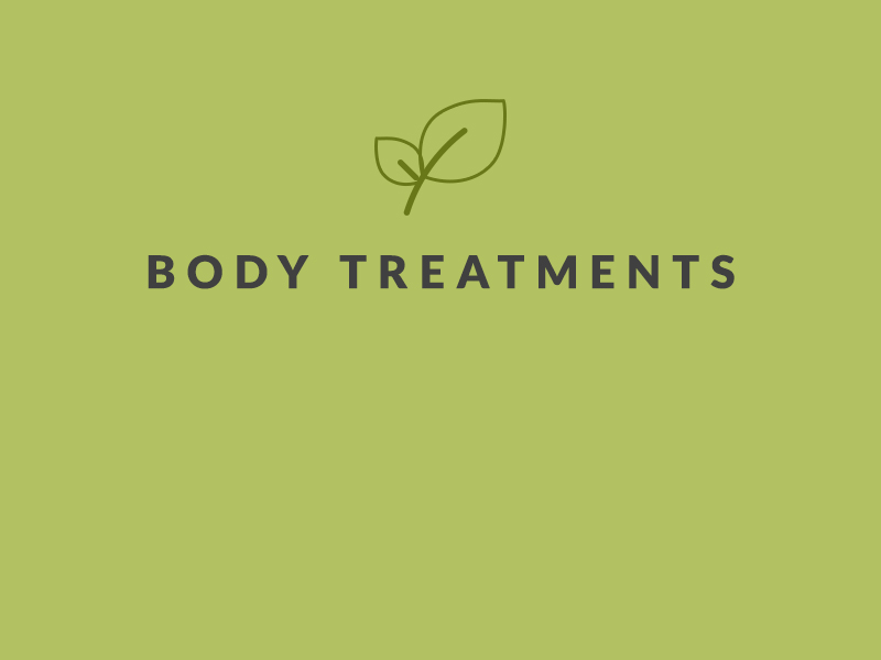 BJ Grand Salon & Spa Body Treatments